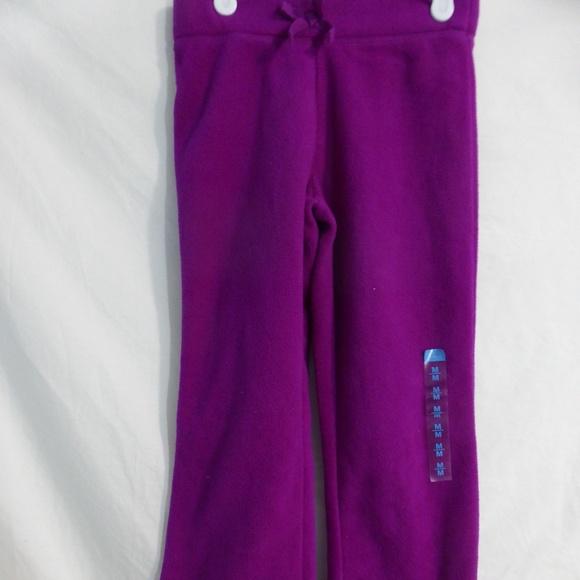 CHILDREN'S PLACE girl's fleece exercise pants BNWT